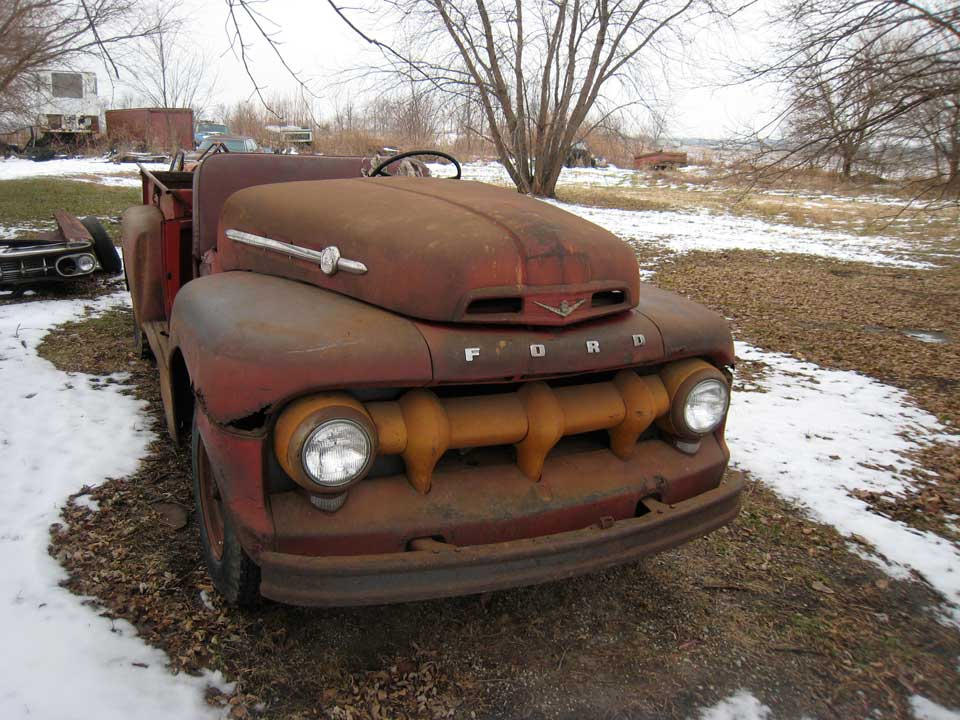 1952 Ford F2 Classic Automobiles
